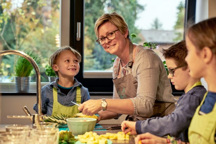 Kochen in der Familie