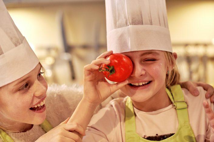 Kochen macht Kindern Spaß